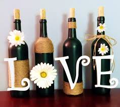 anniversary wine bottles dear paradise be inspired upcycle wine bottles