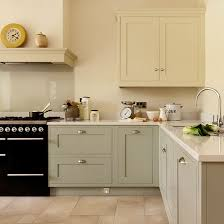 shaker style kitchen with hand painted cabinetry shaker style