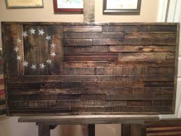 Military Home Decorations by Reclaimed Wood American Flaghandmade Wood Flag Rustic Home