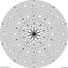 geometric design coloring pages 24243 bestofcoloring com