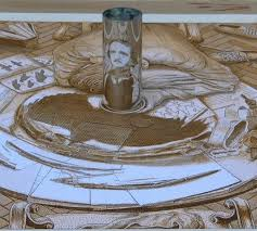 anamorphic drawings by istván orosz daily creativity