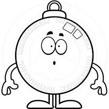 christmas ornament clipart black and white free clip art images