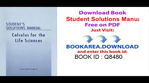 download student solutions manual for calculus with applications