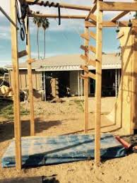 Backyard Ninja Warrior Course Amateur Athletes In Phoenix Train For A Chance To Compete On