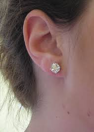 what size diamond earrings what is the largest size stud earrings you would pricescope forum