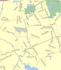 connecticut on map maps of redding connecticut ct