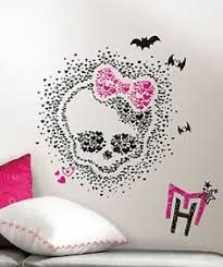 monster high room ideas hand painted wallpaper murals by me