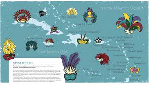Map Of Caribbean Islands And South America by Caribbean Islands Map Map Collection