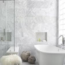 bathroom border tiles ideas for bathrooms gray glass hexagon border tiles design ideas