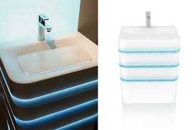 bathroom furniture aqualight from solid surface cetecho com