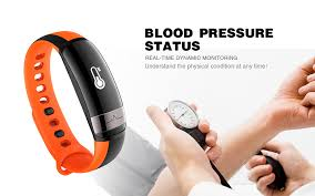 blood bracelet images Lynwo m6 blood pressure dynamic heart rate sport smart dual jpg