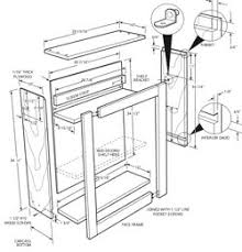 Kitchen Cabinets Plans Ana White Wall Kitchen Cabinet Basic Carcass Plan Diy Projects