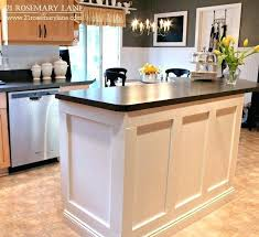 how to make kitchen island how to make a simple kitchen island real simple kitchen island