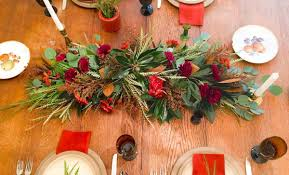 Thanksgiving Table Thanksgiving Table Centerpiece Garland Flower Magazine