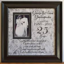 personalized anniversary gifts wedding frame gift to parents groom from framedaeon on etsy