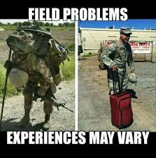 Army Girlfriend Memes - field load outs may vary navy memes clean mandatory fun