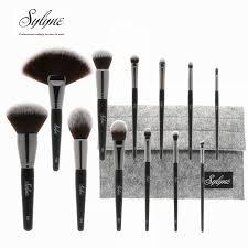 professional makeup tools sylyne 12pcs professional makeup brush set holder high