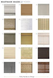 Roman Shades Jcpenney 48 Affordable Ready Made Woven Window Shades To Fit Most Standard