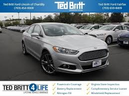 2011 ford fusion battery replacement 2016 ford fusion stk c65139 for sale ted britt ford