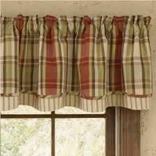 country layered valance curtains heartfelt 72