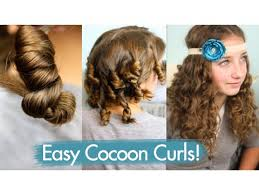 non hairstyles cocoon curls easy no heat curls cute girls hairstyles youtube