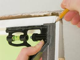 How To Install Crown Molding On Kitchen Cabinets by How To Install Doorway Molding Diy