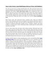 100 cover letter for literary agent letter for theatrical