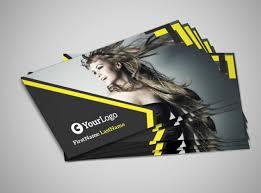 Business Cards Hair Stylist Hair Salon Studio Business Card Template Mycreativeshop