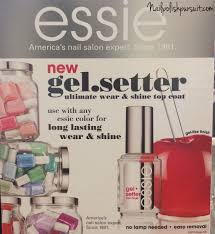 review essie gel setter top coat the polished pursuit
