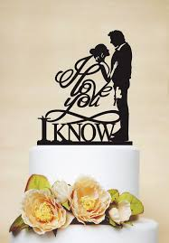 where to buy wedding cake toppers wars wedding cake topper i you i cake topper