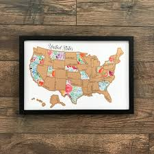 World Scratch Map by Rose Less Traveled United States Of America Usa Us