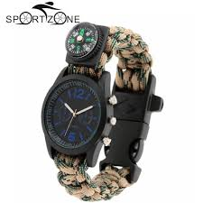 bracelet paracord survival images On sale free shipping survival watch bracelet paracord jpg