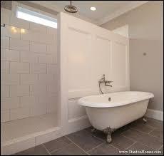 Open Showers No Doors Walk In Shower No Door Shower Bathroom Pinterest Doors