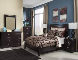 Larimer Upholstered Bedroom Set Zanbury Panel Bedroom Set From Ashley B217 57 54 Coleman Furniture