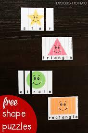 shape puzzles playdough to plato
