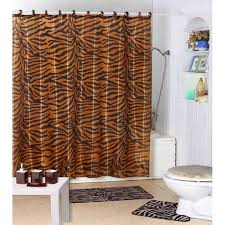 Pink And Orange Shower Curtain Zebra Shower Curtain The Shoppers Guide
