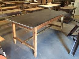 Stainless Steel Kitchen Table Top Kitchen Island With Stainless Steel Top Base Made From