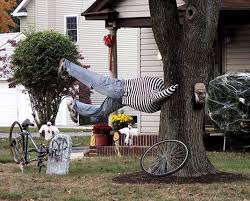 halloween lawn decoration ideas