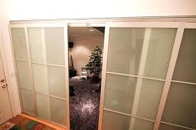 Diy Sliding Door Room Divider Sliding Door Room Dividers Large Size Of Glass Sliding