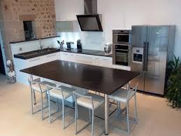 table de cuisine table de cuisine noir cuisine complte laqu blanc avec comptoirs