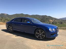 blue bentley interior 2017 bentley flying spur v8 s first drive slashgear