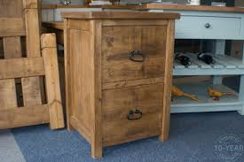 a rustic plank 2 drawer filing cabinet vanilla furniture