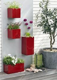 Urban Wall Garden - three cool wall planters