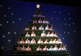 church features 21 foot tall singing christmas tree local