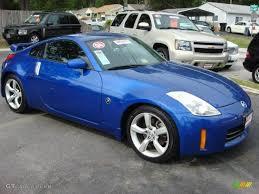 Nissan 350z Horsepower 2006 - daytona blue metallic 2006 nissan 350z coupe exterior photo