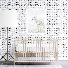 tribal wallpaper black and white kids monochrome wall sticker