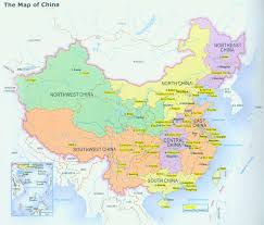 India Physical Map by Physical Map Of China In Large Version 1711 1000 Pixels China