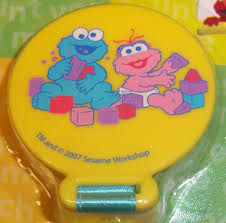 new sesame street pacifier holder elmo big bird cookie monster