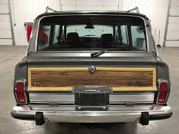 jeep wagoneer 1989 1989 jeep grand wagoneer my classic garage
