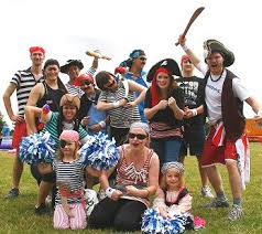 some fancy dress costume ideas for its a knockout teams at events